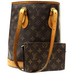 2005s Louis Vuitton Monogram Canvas Petit Bucket Bag