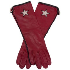 """Rodeo"" Long Leather Gloves"