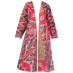Antique Handwoven Silk IKat Coat