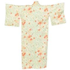 Hand Made Japanese Cherry Blossom Silk Kimono