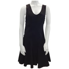 Derek Lam Black Cotton Dress NWT