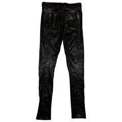 Black Rag & Bone Leather Pants