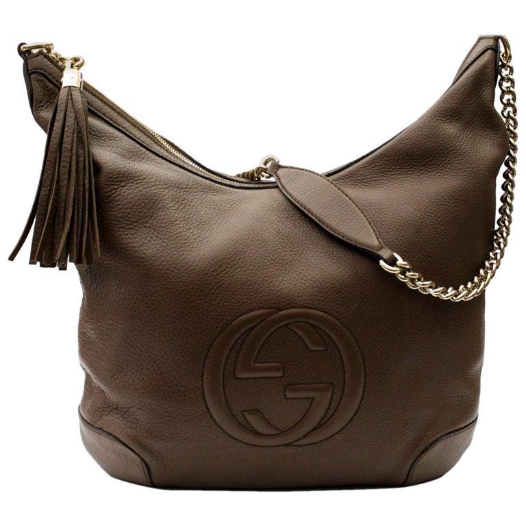 86801f202c9099 Gucci Soho Leather Shoulder Bag at 1stdibs
