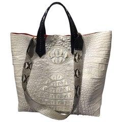 Ana Crocodile tote bag with sling