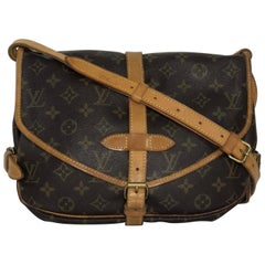 Louis Vuitton Monogram Saumur 30 Crossbody Messenger Hand Bag