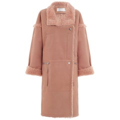 Zimmermann Maples Riot Long Shearling Coat
