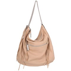 Christian Louboutin beige Chain Shoulder Bag