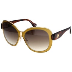 Balenciaga Woman Brown Sunglasses