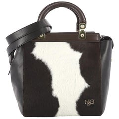Givenchy HDG Tote Pony Hair and Leather Small