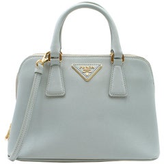 Prada Promenade Leather Shoulder Bag