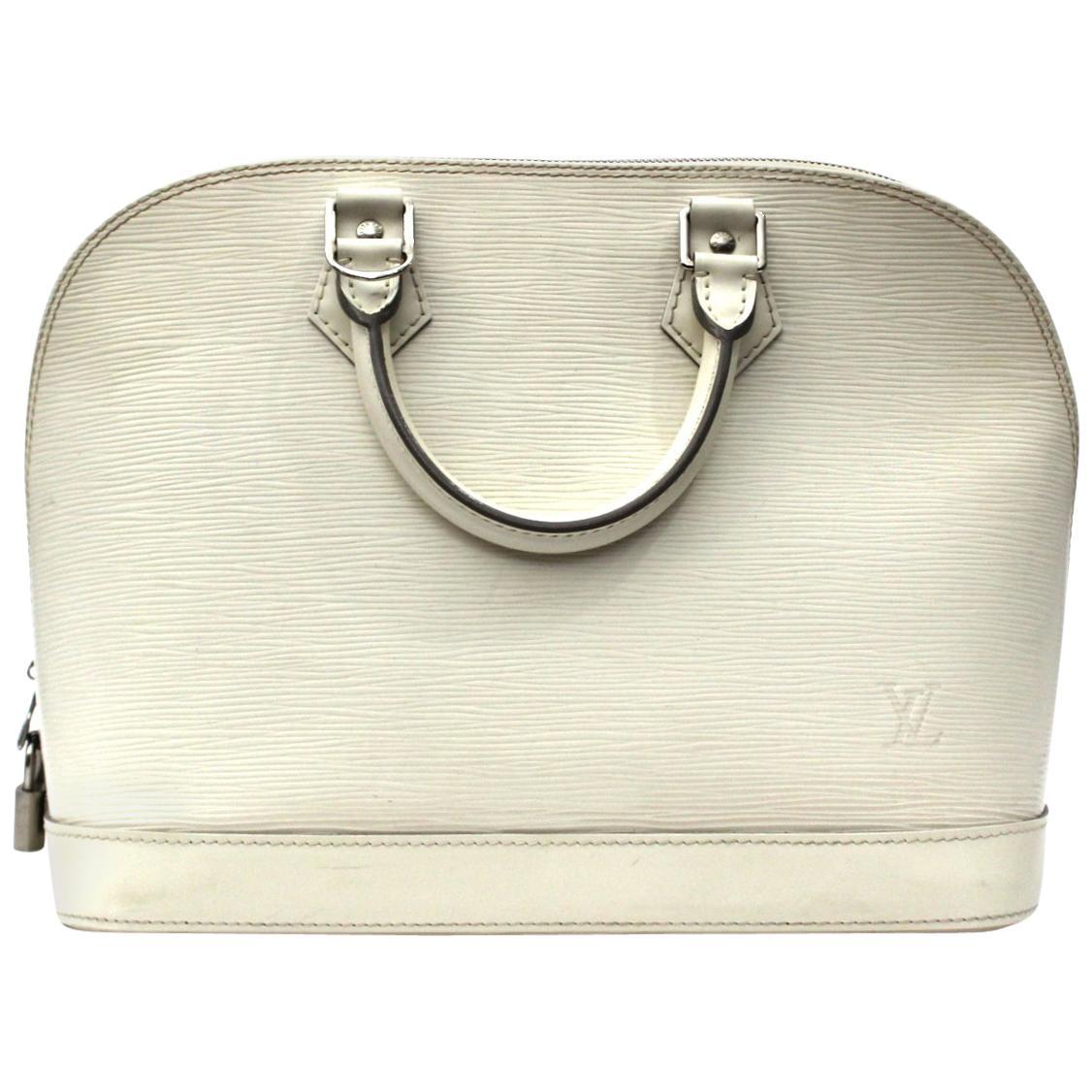 2007 Loui Vuitton Epi Leather Alma PM Bag
