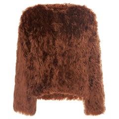 Isabel Marant Agga Alpaca-Fur Jacket