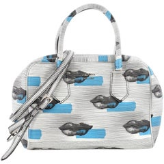 Prada Inside Bauletto Bag Printed Vitello Daino Medium