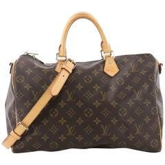 Louis Vuitton Speedy Bandouliere Bag Monogram Canvas 35