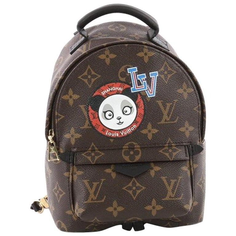 9606dcc49869 Louis Vuitton Palm Springs Backpack Limited Edition Monogram Canvas Mini  For Sale
