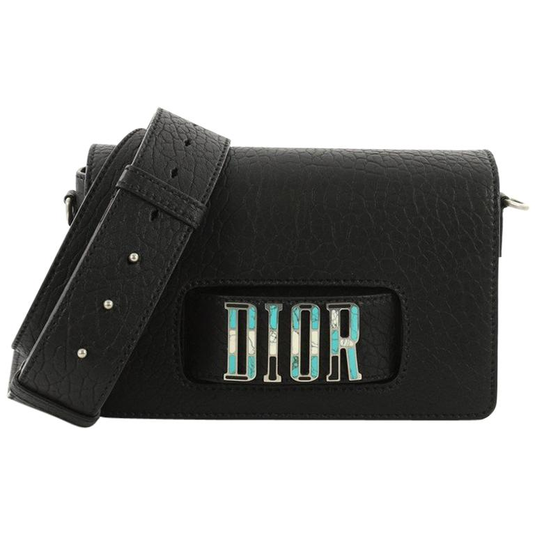 Christian Dior Dio(r)evolution Flap Bag Canyon Grained Lambskin with Mosaic  Deta at 1stdibs d29c22276421f