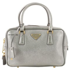 Prada Convertible Bauletto Bag Saffiano Leather Small