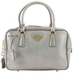 Prada Convertible Bauletto Bag Saffiano Leather Small