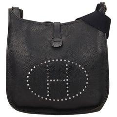 Hermes Black Hermes Evelyne PM Bag