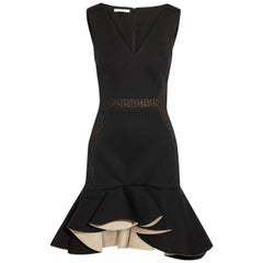 Antonio Berardi Ruffled Modal Jersey Mini Dress