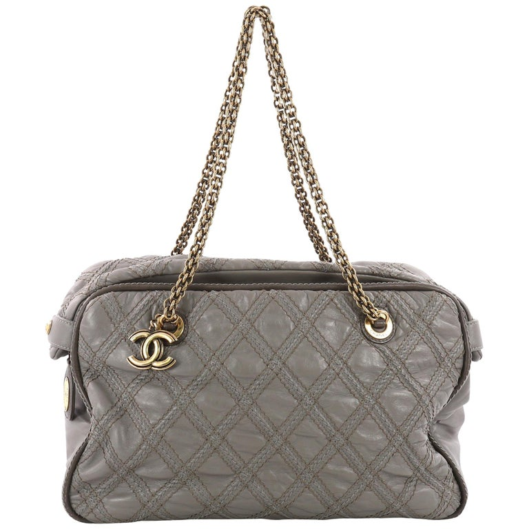 Chanel Triptych Tote Quilted Calfskin