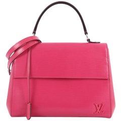 Louis Vuitton Cluny Top Handle Bag Epi Leather MM