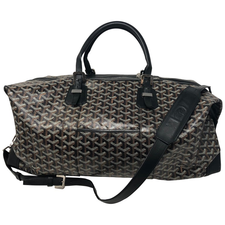 Goyard 55 Duffel Bag  For Sale