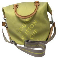 Louis Vuitton Lime Damier Geant Cup Bag