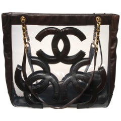 Chanel maxi jumbo tote bag