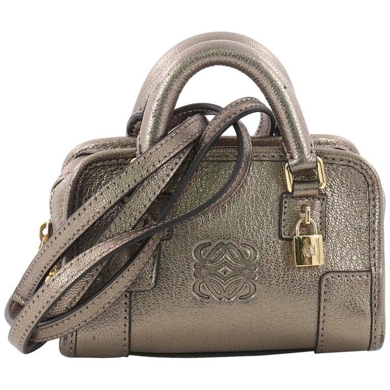 Loewe Amazona Bag Leather Micro