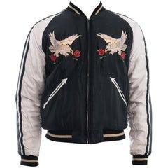 Toyo Tailor Tokyo Skull Embroidered Sukajan Souvenir Jacket