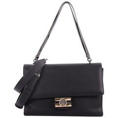Bvlgari Monete Tubogas Bag Leather Medium