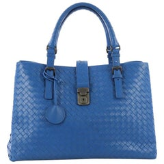 Bottega Veneta Roma Handbag Intrecciato Nappa Medium