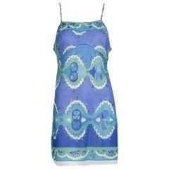 Emilio Pucci Formfit Rogers Negligée Slip Dress, 1960s