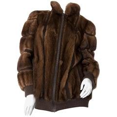 Christian Dior Mink Fur Bomber Jacket