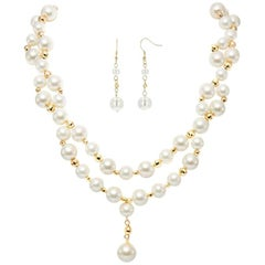 Genuine Shell Pearl Necklace - Posh by Feri