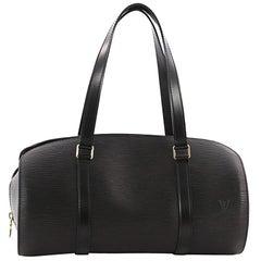 Louis Vuitton Soufflot Handbag Epi Leather