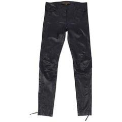 Louis Vuitton Denim Logo Monogram Blue Jeans At 1stdibs
