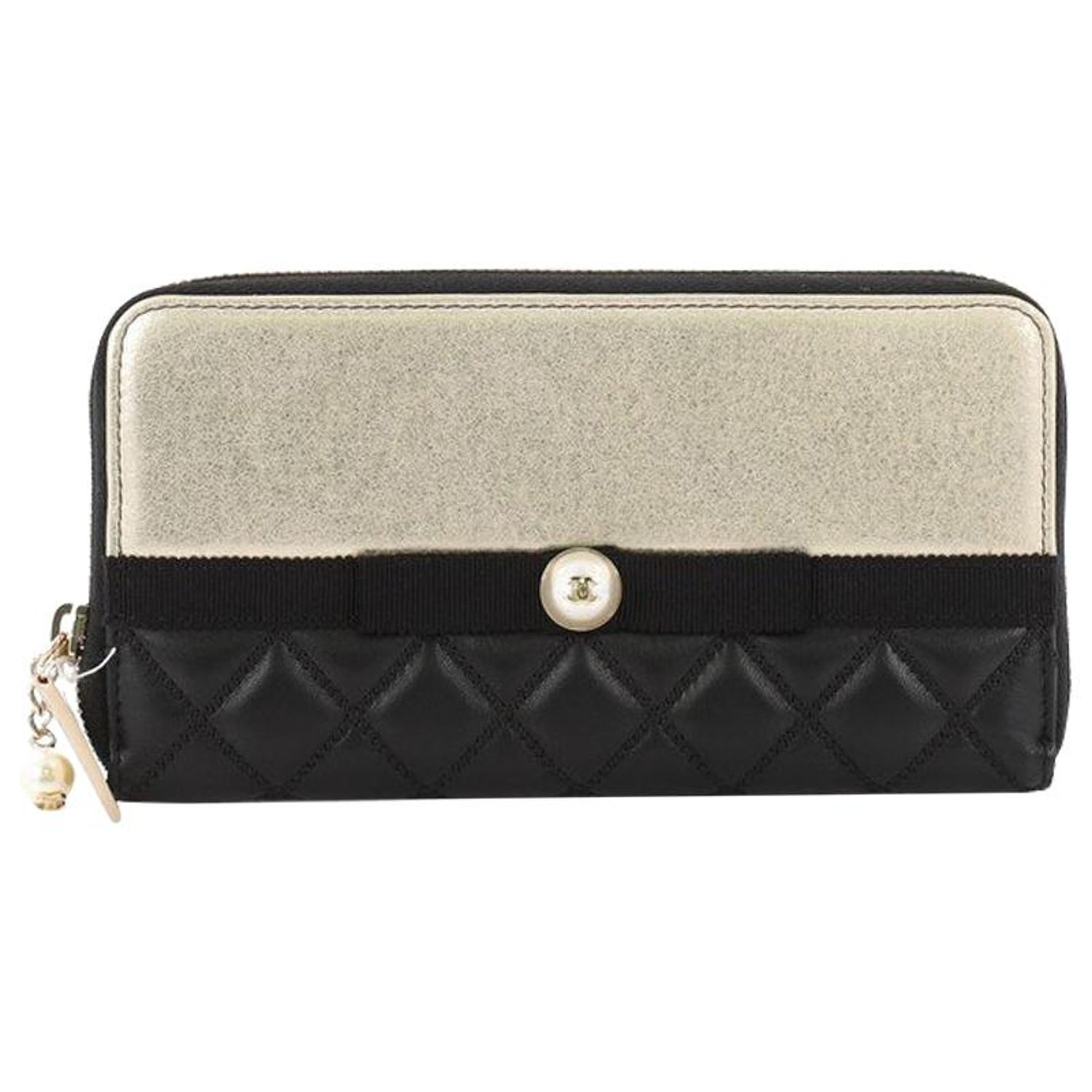7e2345e31dc4 Chanel Quilted Lambskin Zipped Wallet - Best Quilt Grafimage.co