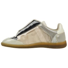 Maison Martin Margiela Men's Sneaker Suede and Leather with PVC Cover 43