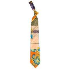 1990s Gianni Versace Atelier Mens Silk Tie