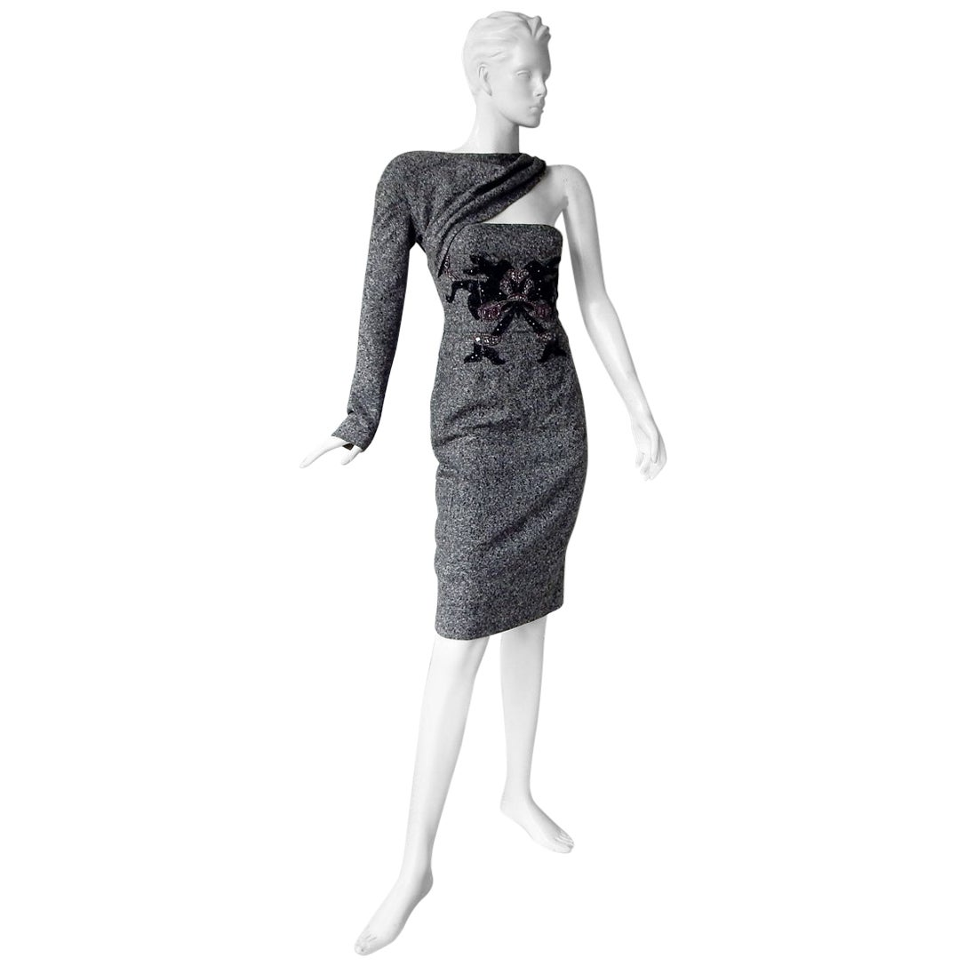 Christian Dior by John Galliano 60 Years of Fashion Celebration Runway Dress