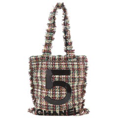 Chanel No. 5 Shopping Tote Tweed Large