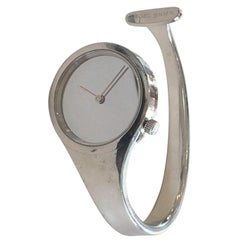 Georg Jensen by Vivianna Torun design no. 336 Bracelet Quartz Wristwatch