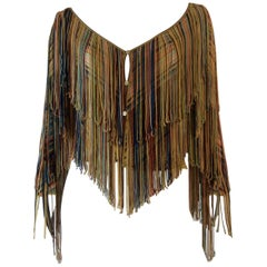 Missoni fringed jacket