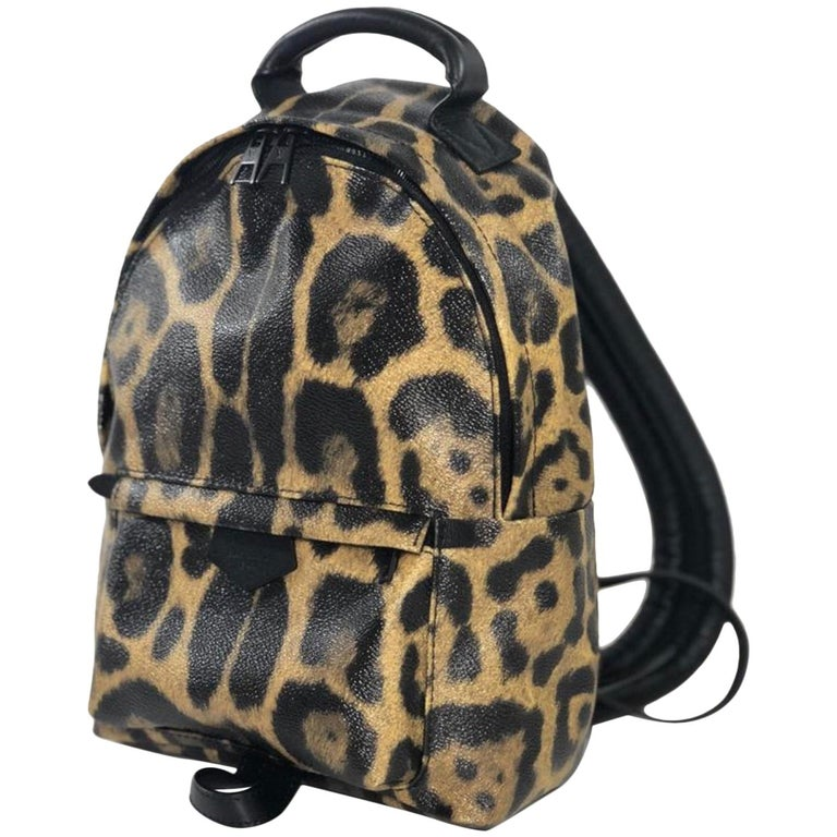 Louis Vuitton Limited Edition Wild Animal Print Palm Springs PM Backpack