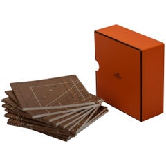 Hermès Orange Box Set of 10 Notepads