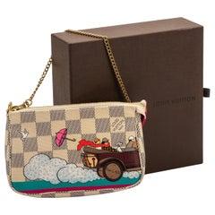 Louis Vuitton Limited Edition Evasion Mini Pouchette Bag
