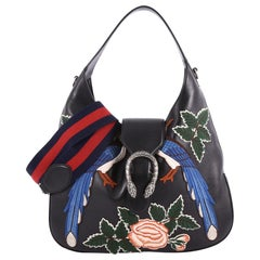 Gucci Dionysus Hobo Embroidered Leather Small