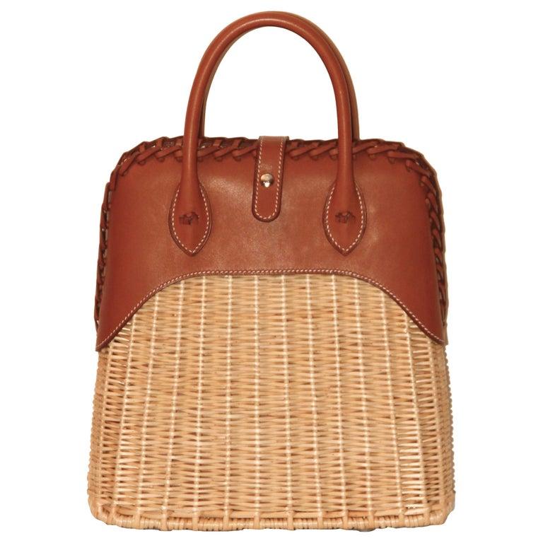 Hermes 24 Limited Edition Bolide Picnic Bag  For Sale